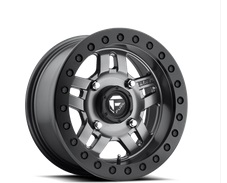 Fuel Offroad Anza Series Matte Anthracite with Black Ring