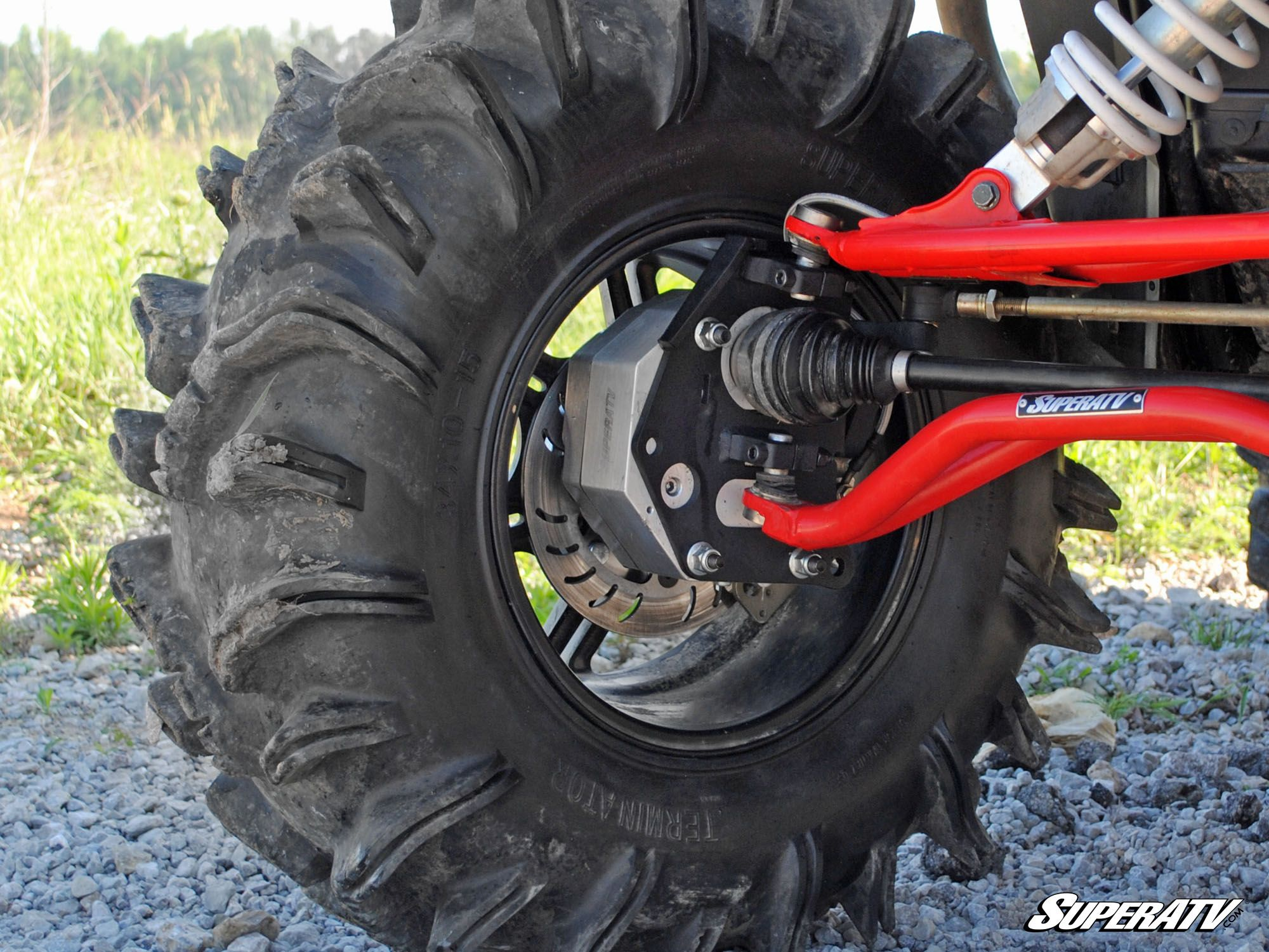 "Polaris RZR 1000 4"" Portal Gear Lift - MSC Powersports"