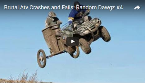 Brutal Atv Crashes and Fails