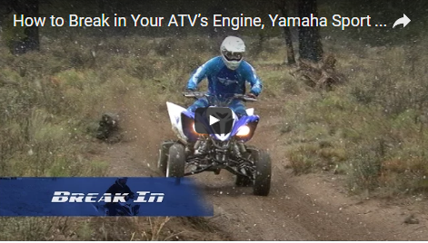 How to Break in Your ATV's Engine - Yamaha Sport ATV Raptor 700R