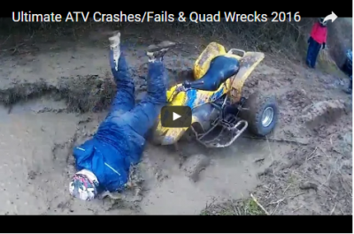 Ultimate ATV Crashes